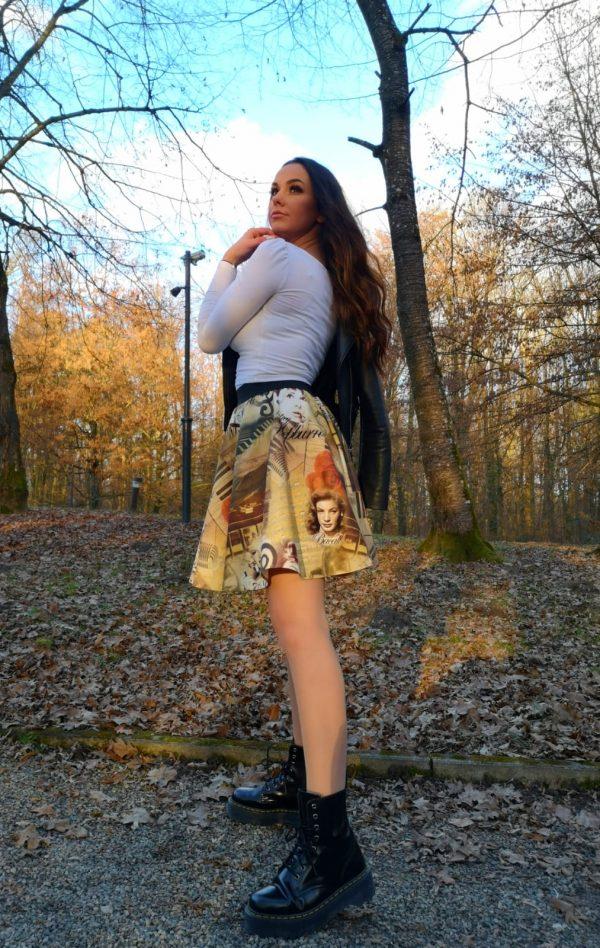 """Kratka suknja """"retro""""  - 25032021-1-1"""