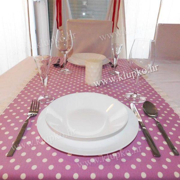 Nadstolnjak za stol dim. 1,70m x 0,50m art.000411-1-6