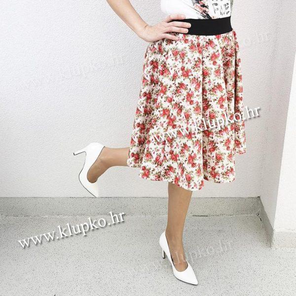 10042019-1-6 Kratka suknja cr. cvijetići