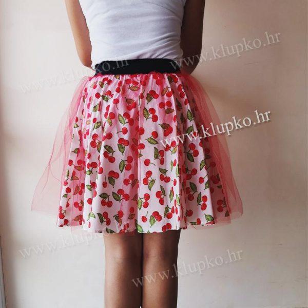 """07102019-1-1 Kratka suknja """"til šareni"""""""
