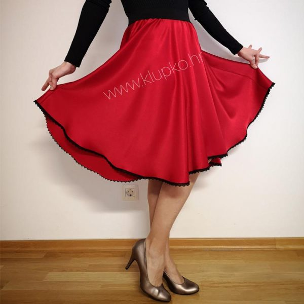 10042019-3-1 kratka suknja crvena